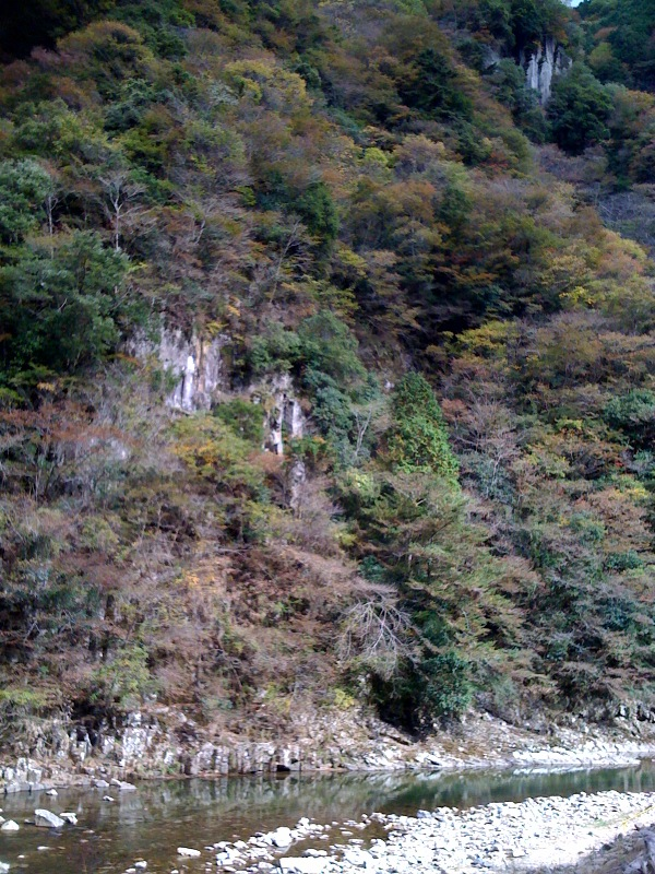 名張の香落渓へヤってきました