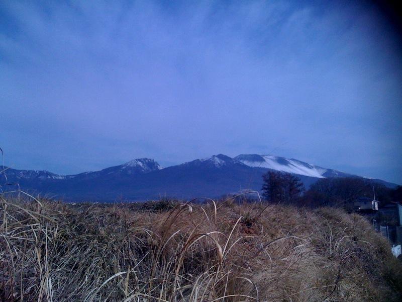 日本百名山の一つ浅間山