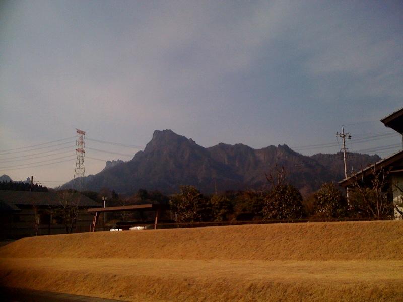 妙義山です