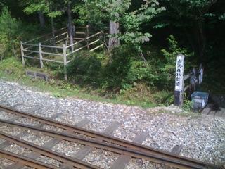 赤沢森林鐵道に乗りました