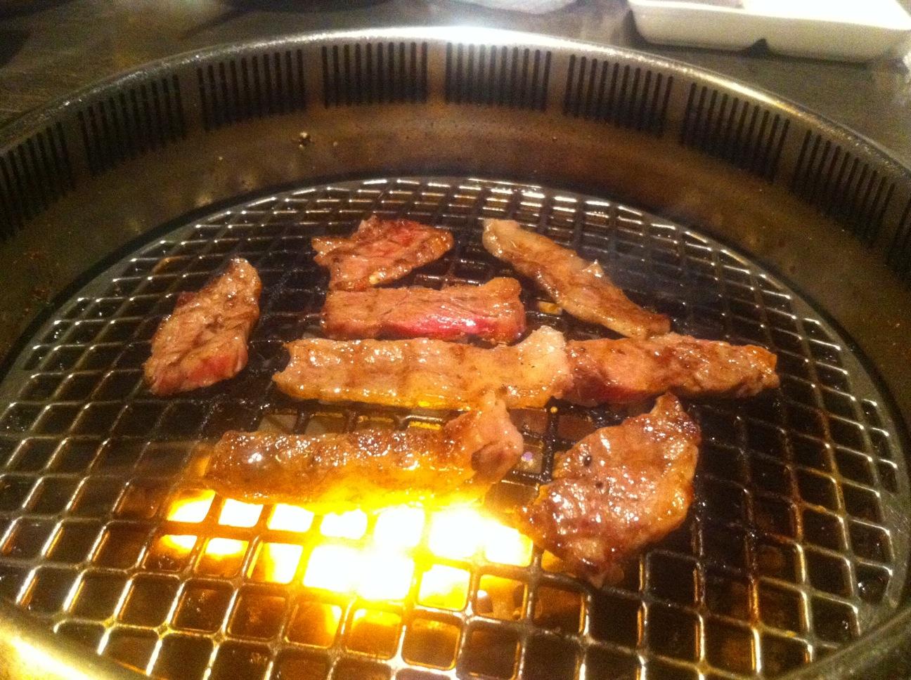 今日は焼き肉