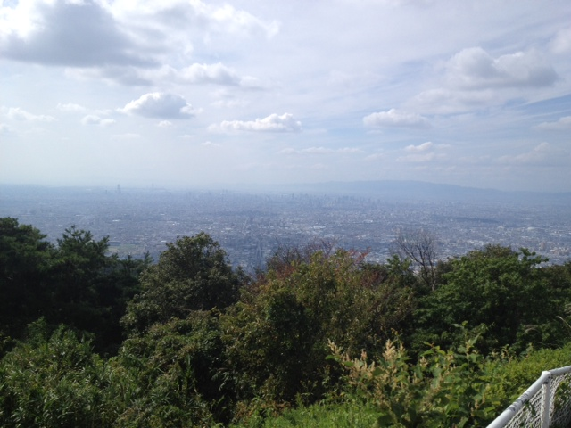 生駒山上遊園地なう